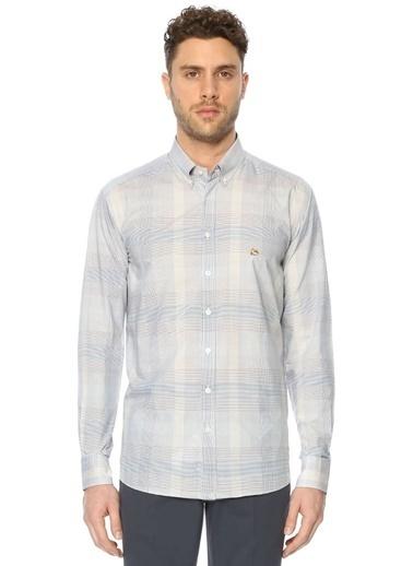 Etro Ekoseli Uzun Kollu Gömlek Mavi